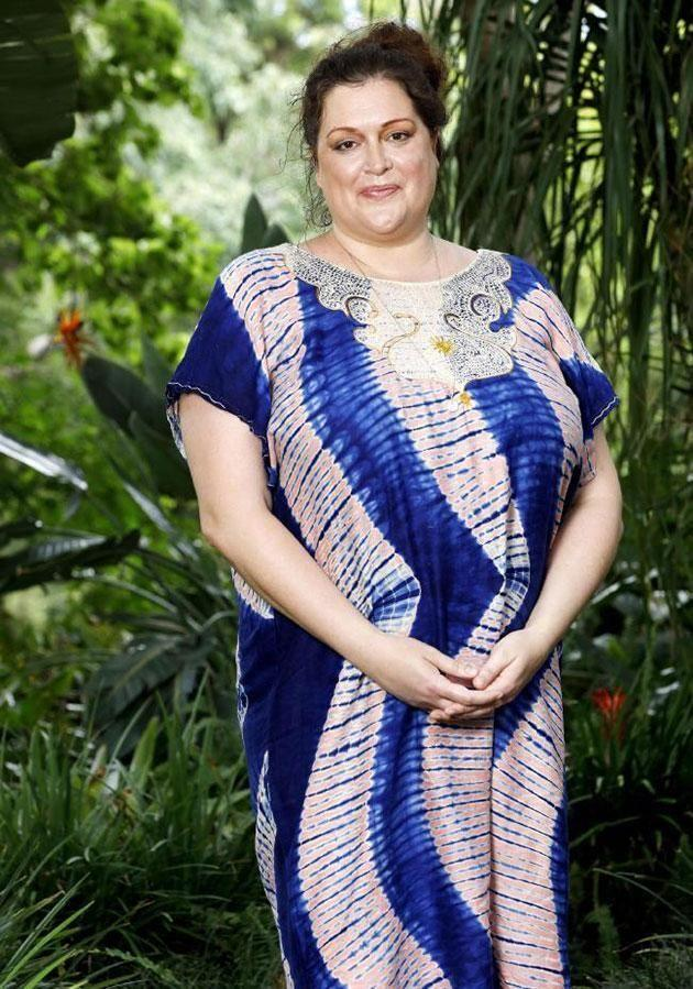 Her adventures on I'm a celeb! kick-started her weight loss journey. Source: Ten