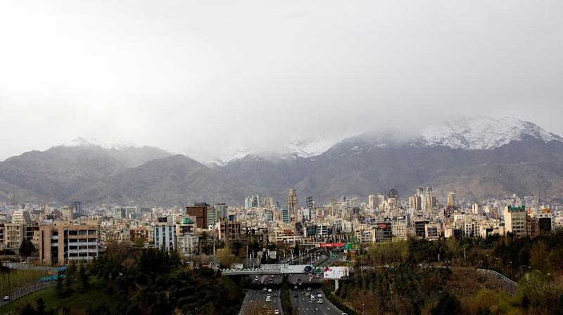 High-Rise Building In Tehran Collapses In Fire