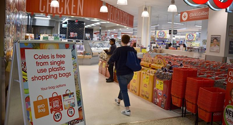 Woolworths and Coles cite food safety and accurate weighing as reasons for preventing customers from bringing reusable plastic containers.