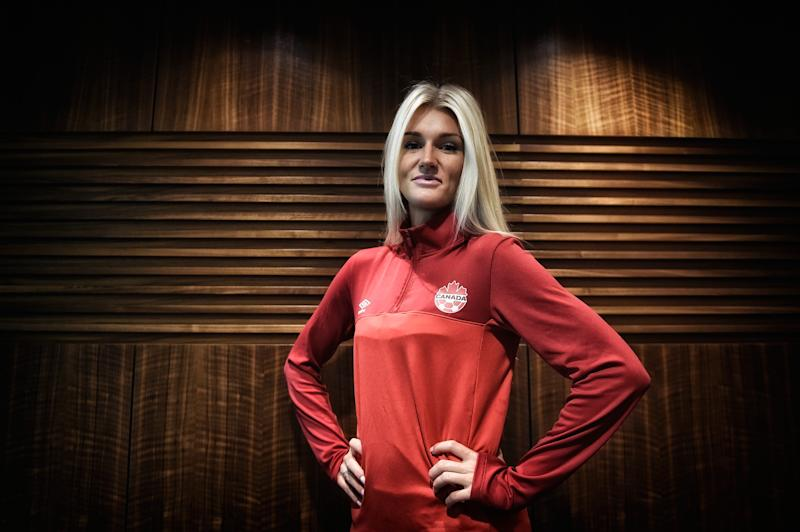 VANCOUVER, BC - JUNE 18: Former Canadian soccer player Kaylyn Kyle received death threats after criticizing the USWNT for excessive celebrating. (Photo by Mike Hewitt - FIFA/FIFA via Getty Images)
