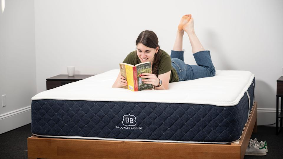 """The Brooklyn Bedding Signature Hybrid isn't a bad mattress, but it's softer than you would think for a """"medium firm"""" option."""