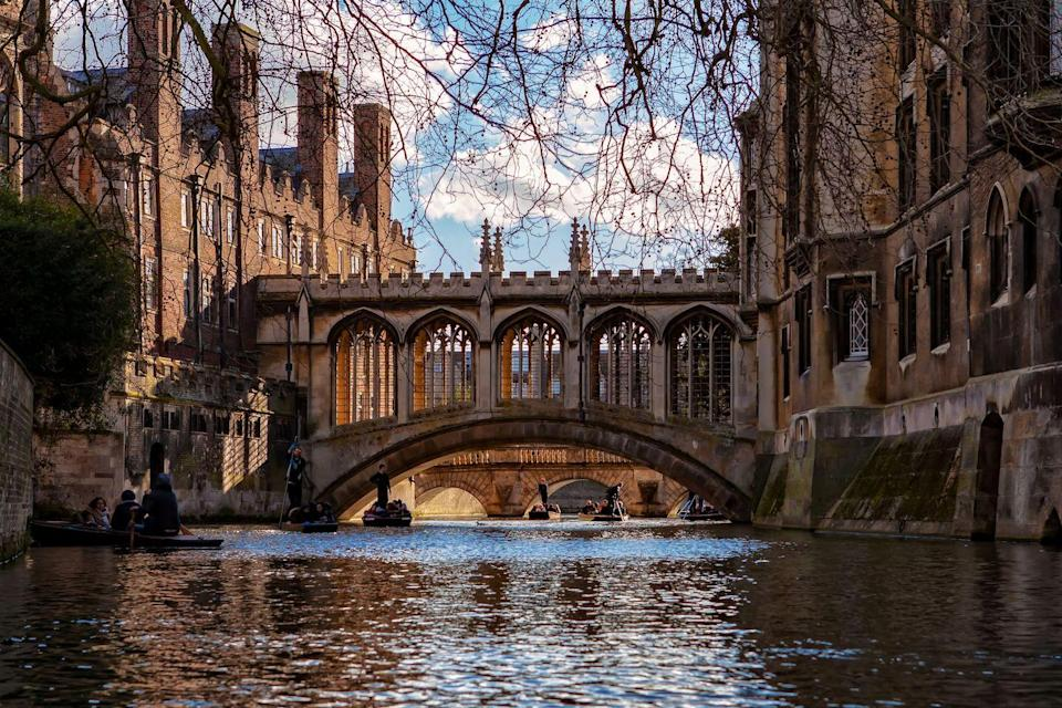 """<p>A real life Hogwarts, Cambridge is a magical city (get it?) filled with Gothic architecture, university students and bicycles galore. </p><p>We suggest organising a visit to the Fitzwilliam Museum, and tours of King's College Chapel and the Cambridge University Botanic Garden. </p><p>After a punt along the River Cam, head to The Punter pub along the 'Backs' of several of the university colleges' for a delicious plate of fish and chips before making your way to Grantchester for a dessert of scones at The Orchard Tea Gardens. </p><p><strong>Distance from London</strong>: 64 miles</p><p><strong>How to get there</strong>: London Liverpool Street to Cambridge via <a href=""""https://www.thetrainline.com/book/results?origin=2144c4ddc11461cf9b03af198933e8df&destination=e3e04d67118edf0047693508aea3c312&outwardDate=2020-07-16T14%3A30%3A00&outwardDateType=departAfter&journeySearchType=single&passengers%5B%5D=1990-07-16&selectedOutward=rDMf6dd4Tzs%3D%3ANK3x1aes0Rg%3D"""" rel=""""nofollow noopener"""" target=""""_blank"""" data-ylk=""""slk:train"""" class=""""link rapid-noclick-resp"""">train</a> (1hr 23mins).</p>"""
