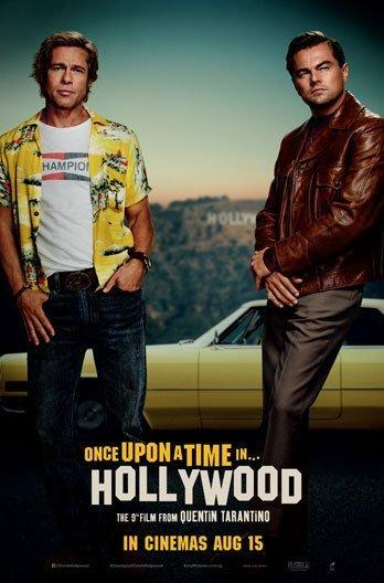 Once Upon A Time In Hollywood. Credit: Golden Village Cinemas
