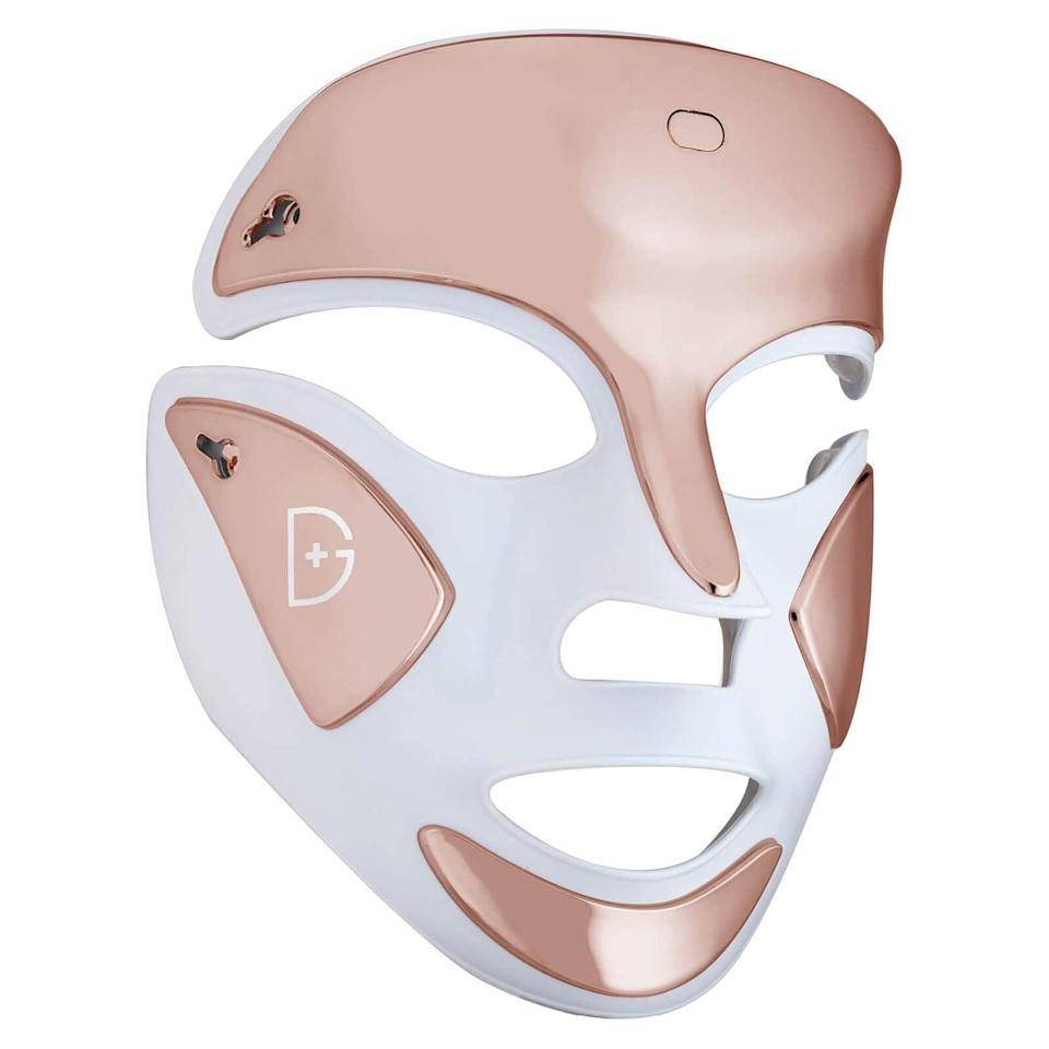<p>Advanced with 100 red lights and 60 blue lights, the <span>Dr. Dennis Gross, DRx Spectralite Faceware Pro</span> ($435) simultaneously works to stimulate the natural production of collagen and destroy P. acnes bacteria. The three treatment options and cordless technology makes it the perfect at-home LED mask to navigate between meetings and relaxation.</p>