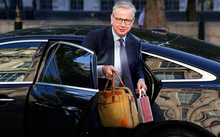 Michael Gove is Boris Johnson's former fellow Vote Leave frontman - Will Oliver/EPA-EFE/Shutterstock