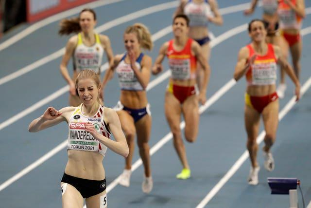 Britain's Holly Archer was disqualified after finishing second in the 1500 metres before being reinstated