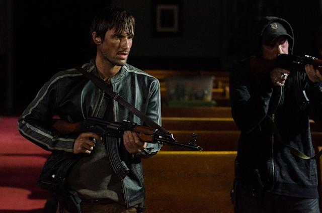 Andrew J. West as Gareth and Chris Coy as Martin in 'The Walking Dead' (Photo: AMC)