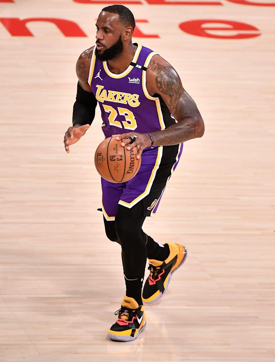 LeBron James returned to the Los Angeles Lakers lineup Friday night against the Sacramento Kings after recovering from an ankle injury.