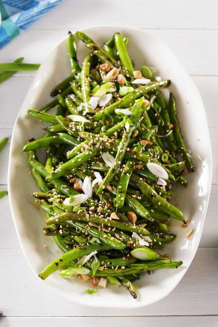 "<p>Very underrated. </p><p>Get the recipe from <a href=""https://www.delish.com/cooking/recipe-ideas/a22243865/grilled-green-beans-recipe/"" rel=""nofollow noopener"" target=""_blank"" data-ylk=""slk:Delish"" class=""link rapid-noclick-resp"">Delish</a>. </p>"