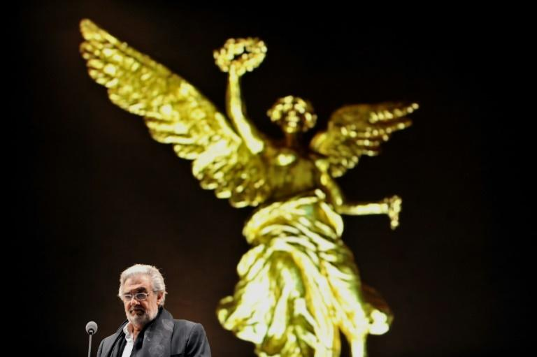 """Placido Domingo said that during his five decades in the opera world he had """"promoting the career of a myriad of singers"""" (AFP Photo/ALFREDO ESTRELLA)"""