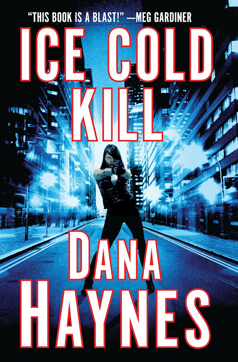 "This book cover image released by Minotaur shows ""Ice Cold Kill,"" by Dana Haynes. (AP Photo/Minotaur)"