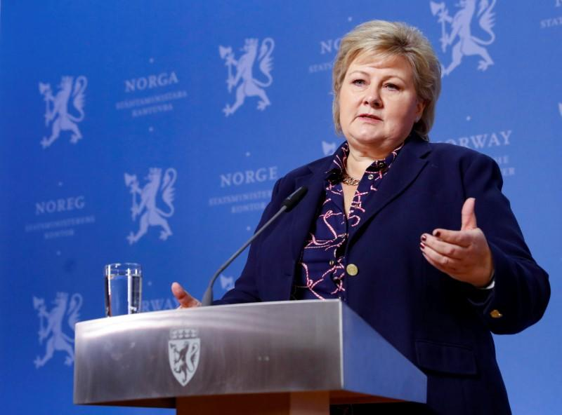 Norway PM shakes up Cabinet after right-wing party exit