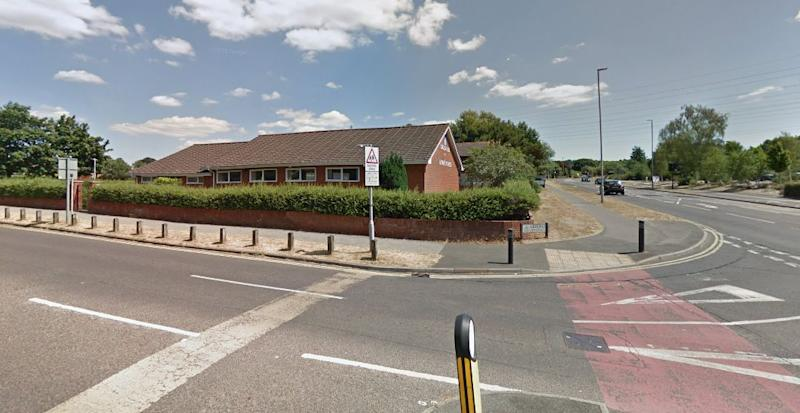 The incident happened at the junction of Sherborne Crescent and Adastral Road in Canford Heath (Google)