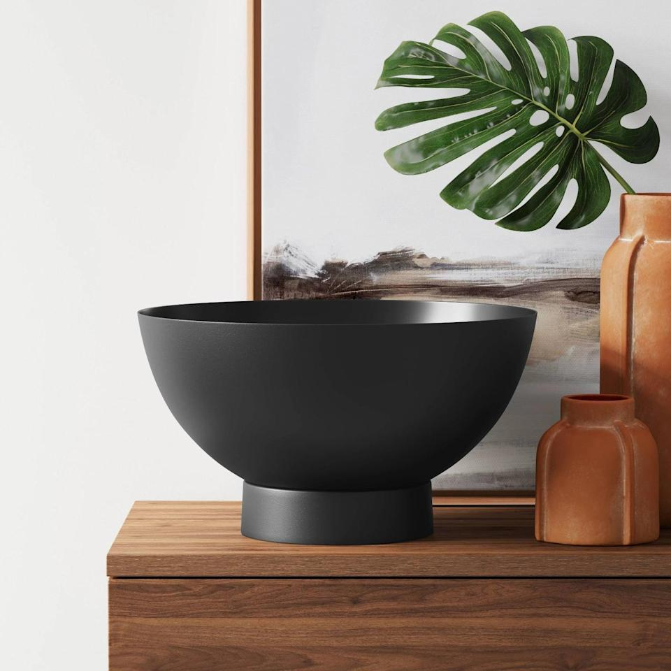 <p>This modern <span>Project 62 Decorative Bowl</span> ($35) can be used in so many ways.</p>
