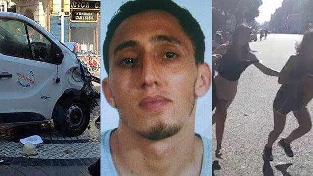 <p>Manhunt for terror suspect on the run Kangoo van rented by suspects 'may have crossed into France' Moussa Oukabir confirmed shot dead in Cambrils Cambrils shoot out ' was like a horror movie' Who are the victims? British boy, seven, among the missing Who are the suspects in the Spanish terror attacks? Everything we know about first attack on Spain in 13 years A huge manhunt was underway across Europe last night for at least one jihadist feared to be still at large after plotting the Barcelona terrorist attacks. Police and security services were hunting for the remaining members of a Moroccan-born terror cell, amid fears that they could be preparing further attacks at popular tourist areas. The 17-year-old key suspect of the Barcelona van outrage, Moussa Oukabir, was one of five terrorists shot dead by Spanish police during an attack on the coastal resort of Cambrils in the early hours of yesterday, authorities confirmed last night. Cambrils suspect taunts police before being shot 00:26 They also named Said Aalla, 18 and Mohamed Hychami, 24 as among those shot dead. Four other suspects were taken into custody. But police were last night continuing to appeal for information on Younes Abouyaaqoub, 22. There were also reports that two further suspects were being sought. A French security official said last night that Spanish police were looking for a Renault Kangoo van rented on Thursday in Spain by the suspects that may have crossed into France. Security officials believe the attacks on Barcelona and Cambrils were the work of a terror cell of at least 12 people, who may have been inspired by the London Bridge outrage in June. On Thursday afternoon, Oukabir and his associates drove a van along Barcelona's crowded Las Ramblas thoroughfare, ploughing into tourists leaving 13 dead and more than 100 injured. Moussa Oukabir, 18, is being hunted as the suspected van driver Among those thought to have been killed was a seven-year-old British boy, who had been visiting Barce