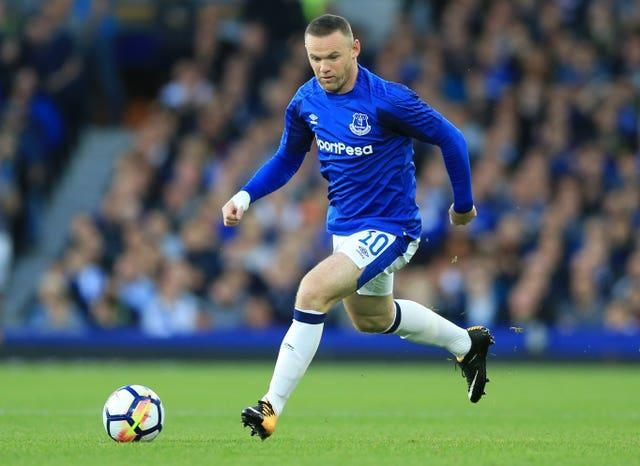 Rooney had rejoined boyhood club Everton from Manchester United in the summer of 2017 (Nigel French/PA).