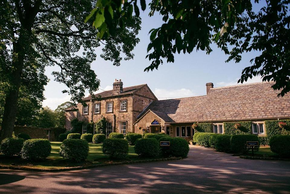 "<p>Pack your wellies (and the dog) as this country hotel in Yorkshire has everything you could want from a rural escape. Situated at the southern edge of the Yorkshire Dales, the charming <a href=""https://go.redirectingat.com?id=127X1599956&url=https%3A%2F%2Fwww.booking.com%2Fhotel%2Fgb%2Fthe-devonshire-arms-country-house-spa.en-gb.html%3Faid%3D2070936%26label%3Dcountry-hotels-yorkshire&sref=https%3A%2F%2Fwww.prima.co.uk%2Ftravel%2Fg34639990%2Fcountry-hotels-yorkshire%2F"" rel=""nofollow noopener"" target=""_blank"" data-ylk=""slk:Devonshire Arms"" class=""link rapid-noclick-resp"">Devonshire Arms</a> is a gorgeous base for wow-factor walks or cycling. </p><p>It boasts a 4 AA rosette restaurant so you know you're going to be dining in style, and the cosy lounge has an open fire. The Devonshire Spa has beautiful treatment rooms and an inviting, contemporary indoor pool. Don't forget your swimsuit...</p><p><a class=""link rapid-noclick-resp"" href=""https://go.redirectingat.com?id=127X1599956&url=https%3A%2F%2Fwww.booking.com%2Fhotel%2Fgb%2Fthe-devonshire-arms-country-house-spa.en-gb.html%3Faid%3D2070936%26label%3Dcountry-hotels-yorkshire&sref=https%3A%2F%2Fwww.prima.co.uk%2Ftravel%2Fg34639990%2Fcountry-hotels-yorkshire%2F"" rel=""nofollow noopener"" target=""_blank"" data-ylk=""slk:CHECK AVAILABILITY"">CHECK AVAILABILITY</a></p>"