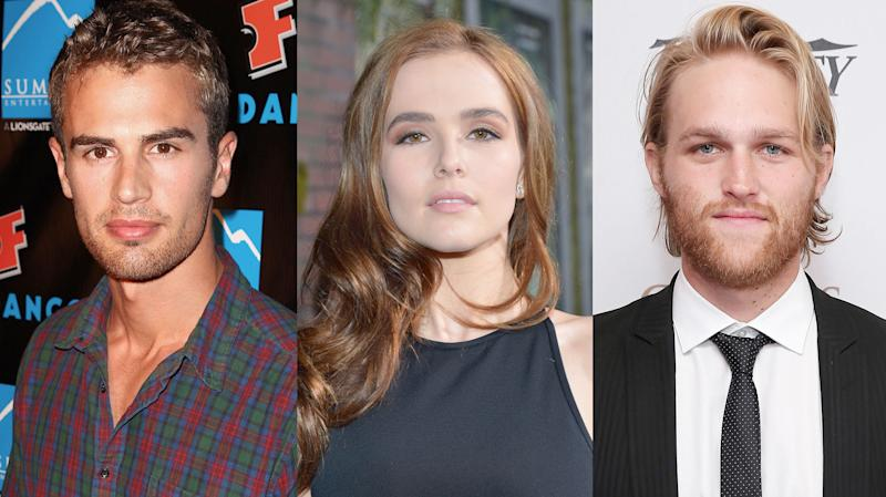 Theo James, Zoey Deutch and Wyatt Russell