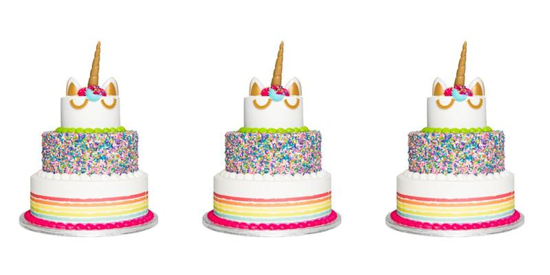 Phenomenal This Unicorn Cake Feeds 66 People Funny Birthday Cards Online Alyptdamsfinfo