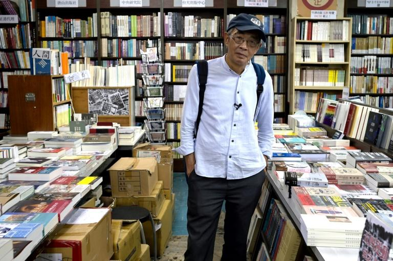 Hong Kong book seller Lam Wing-kee, pictured earlier this year, fled to Taiwan in April