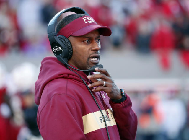 Willie Taggart went 5-7 in his first season as Florida State's head coach. (AP Photo/Chris Seward, File)