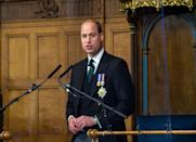 <p>Speaking during the General Assembly of the Church of Scotland on May 22, 2021 in Edinburgh, Scotland.</p>