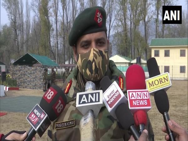 Praveen Kumar, Commanding Officer of 20 Rashtriya Rifles (Photo/ANI)