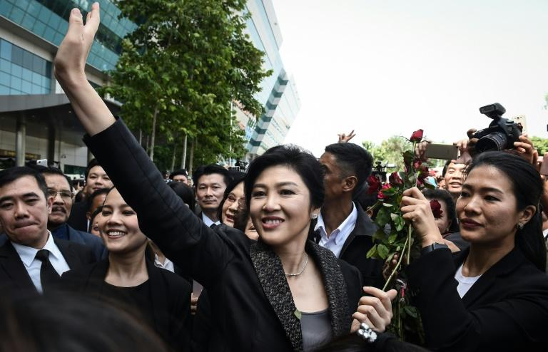 Former Thai prime minister Yingluck Shinawatra Yingluck has not made any public appearance or comments since she vanished last month