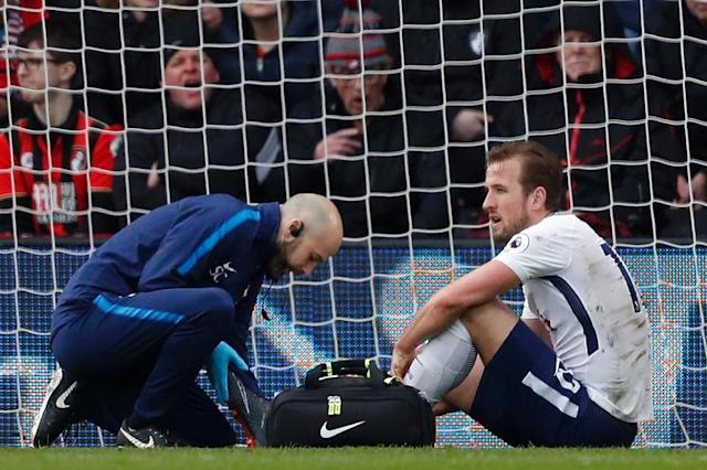 Harry Kane could be in line for a surprise return this weekend after missing England's friendlies with the Netherlands and Italy (AFP Photo/Adrian DENNIS)