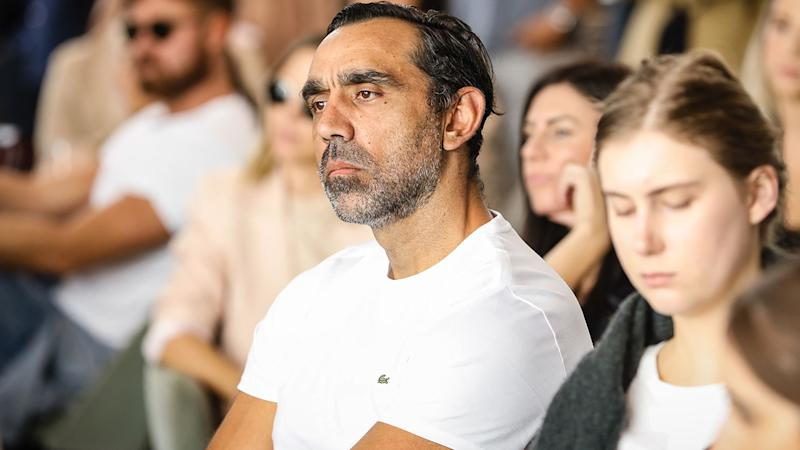 Adam Goodes, pictured here in February 2019. (Photo by Mark Nolan/Getty Images for David Jones)