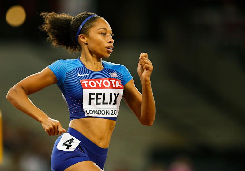 Allyson Felix on Nike: 'If I couldn't secure these protections, who could?'