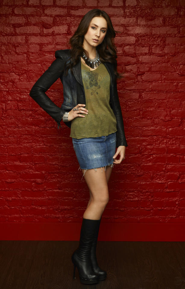 "Troian Bellisario stars as Spencer Hastings on ABC Family's ""Pretty Little Liars."""