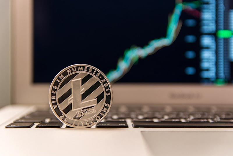 Litecoin price is surging as a bullish sentiment takes over ahead of the upcoming halving event. | Source: Shutterstock