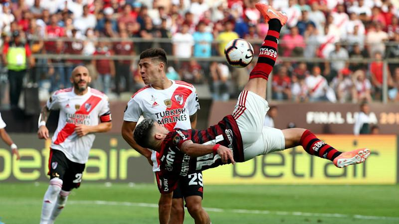Flamengo lift Copa Libertadores with last-gasp 2-1 win over River Plate
