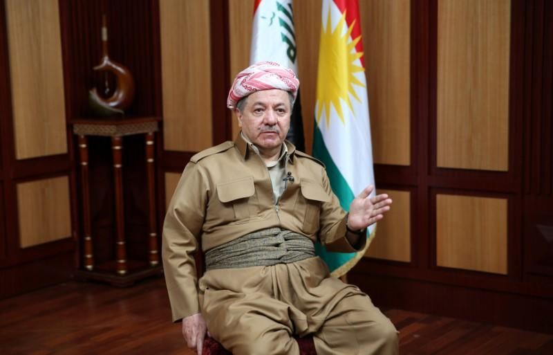 IRAK: LE LEADER KURDE MASSOUD BARZANI CONFIRME SON DÉPART