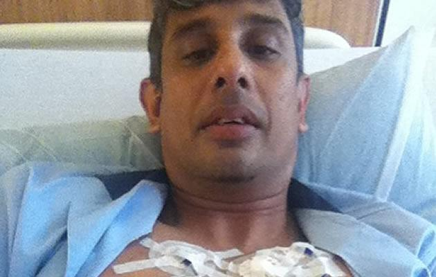 DJ Rod Monteiro is currently in SGH for an acute stroke. (Picture from Rod Monteiro)