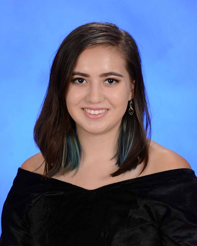 "<p>Student Carmen Schentrup in a photo when named a semifinalist for the 2018 Merit Scholarship award. (Photo: MSD)<br>Carmen Schentrup was a smart girl with a sweet smile. In September, she was named one of 53 National Merit Scholarship Program semifinalists in the county and a classmate tweeted ""we all praised for her intelligence."" Cousin Matt Brandow posted on Facebook that the 16-year-old visited Washington State recently and said she wanted to go to the University of Washington. He asked: you like the rain? ""She answers, I hate sweating in the humid Florida weather,"" Brandow wrote. ""That's when I knew you were perfect for Washington."" (AP) </p>"