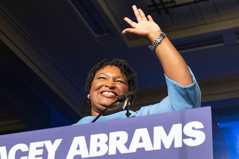 Stacey Abrams (Photo: ASSOCIATED PRESS)