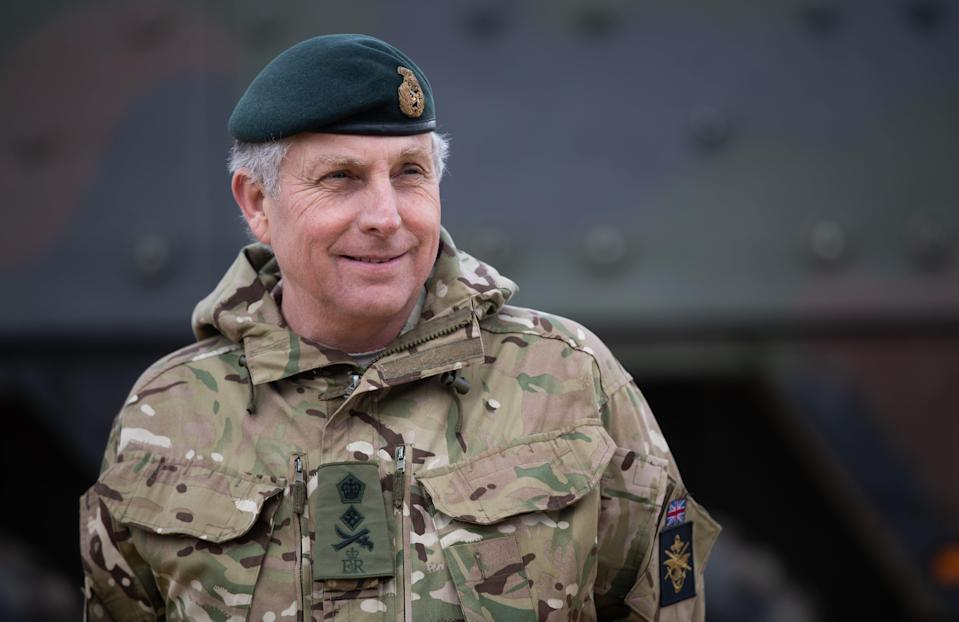 Chief of the Defence Staff, General Sir Nick Carter (Andrew Matthews/PA) (PA Wire)