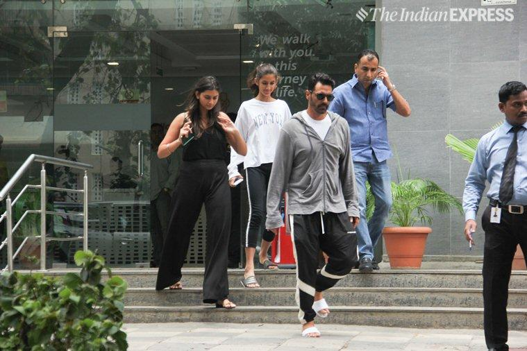 arjun rampal daughters