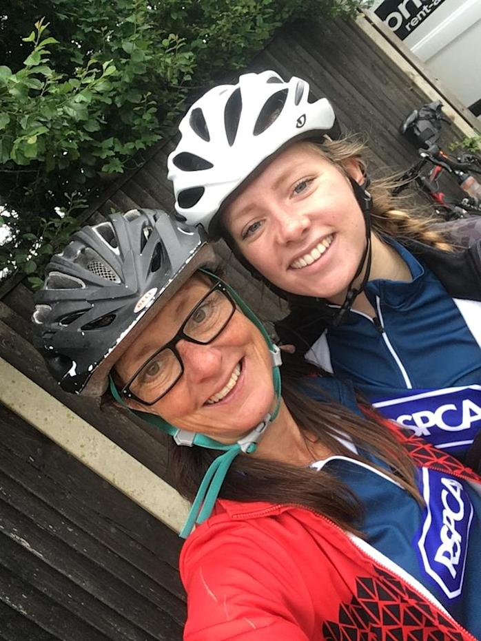 Tracey and Issy Pritchard (Team Animal/RSPCA/PA)