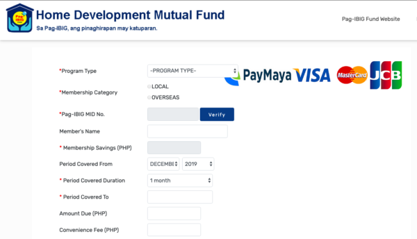 Easy Ways to Pay Bills Online - Pag-IBIG Online Payment Facility