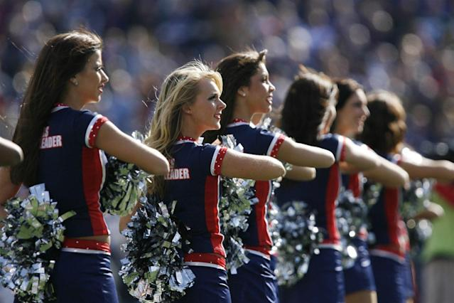 Could the Buffalo Bills get cheerleaders again?