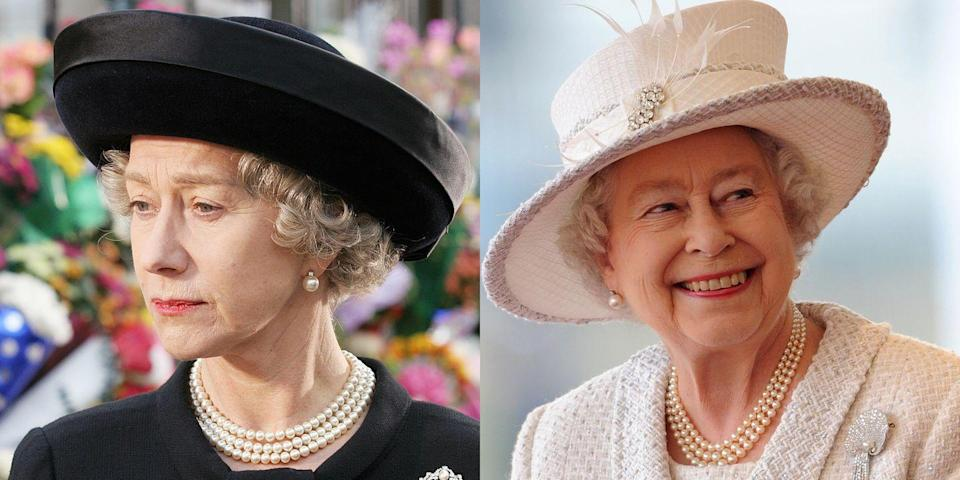 <p>None other than Dame Helen Mirren played Queen Elizabeth II in the 2006 drama <em>The Queen.</em> </p>