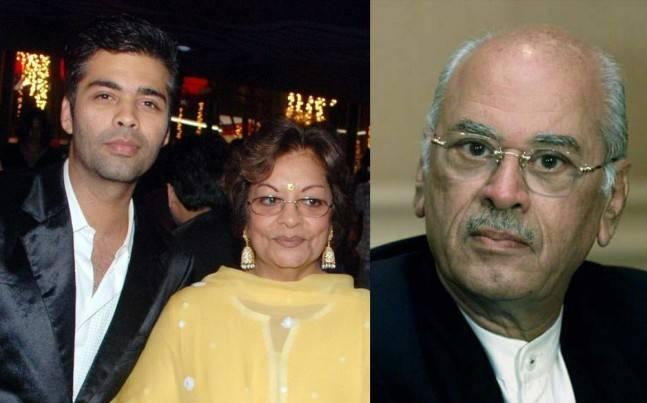Karan Johar names his babies Yash and Roohi after his parents