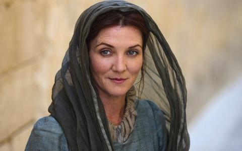 Michelle Fairley as Catelyn Stark - Credit: HBO