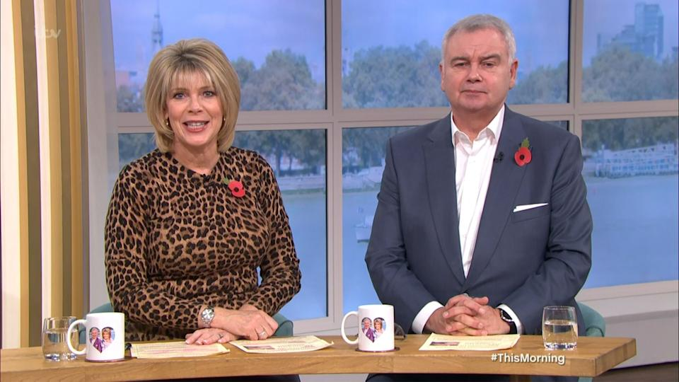 Ruth Langsford and Eamonn Holmes will continue to present during the school holidays (Photo: ITV/Shutterstock)