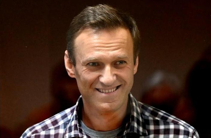 Navalny is serving a two-and-a-half-year sentence