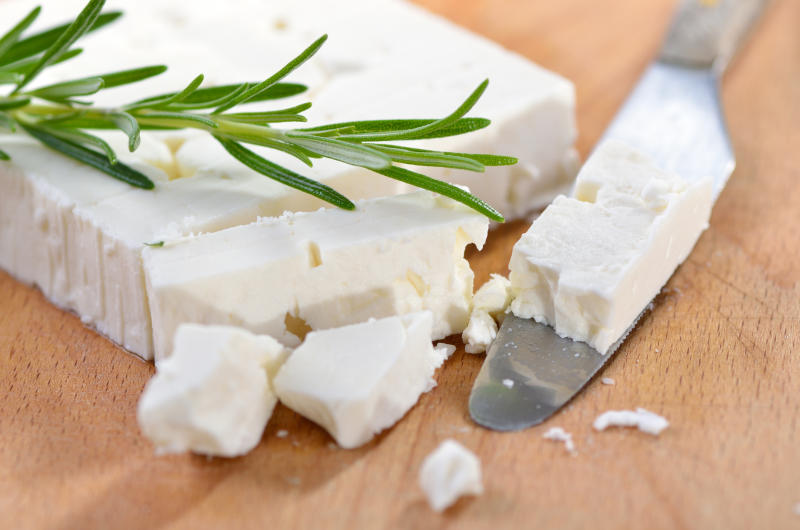 A photo of feta cheese. Australian producers would need to change the cheese's name as part of an EU trade deal. Source: Getty