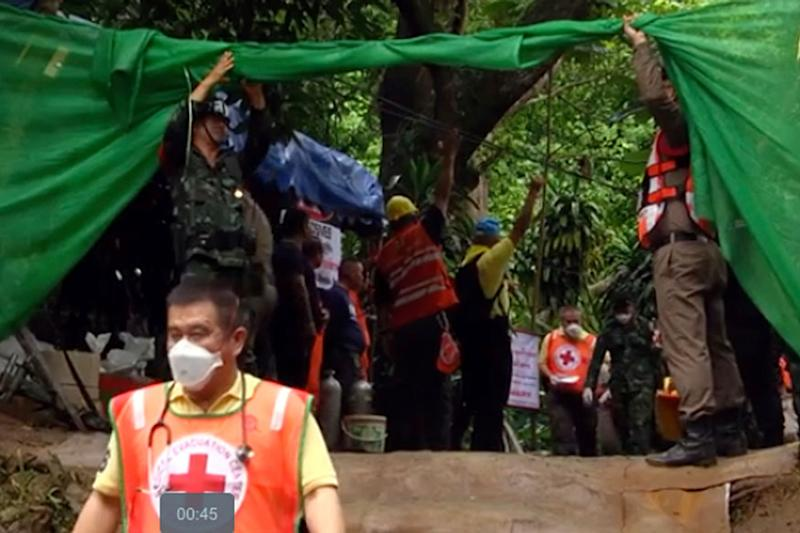 Thai Boys Were Passed 'Sleeping' Through Treacherous Cave, Reveals Rescue Diver